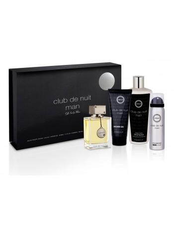 Armaf Club De Nuit Intense Man Подарочный набор (туалетная вода 105 мл + дезодорант 50 мл + гель для душа 100 мл + шампунь 250 мл)