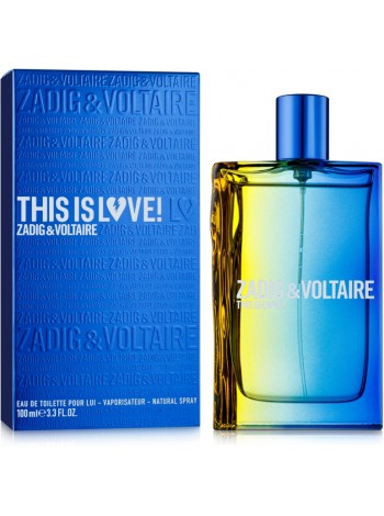 Zadig & Voltaire This is Love! for Him туалетная вода 100 мл