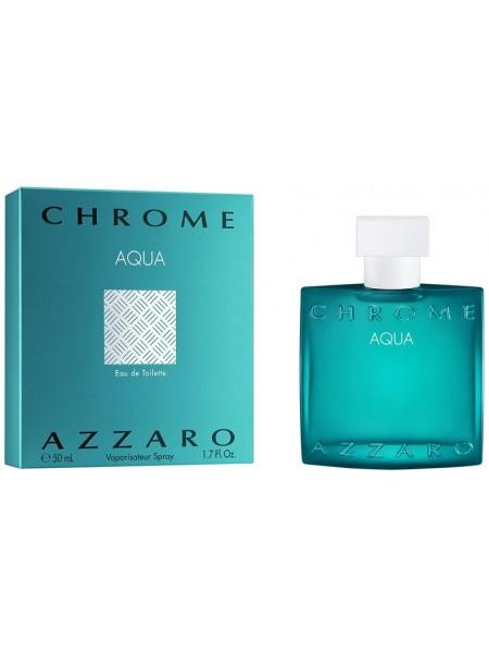 Azzaro Chrome Aqua туалетная вода 50 мл