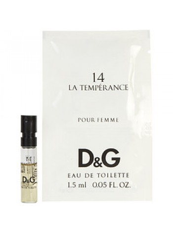 D&G Anthology La Temperance 14 пробник 1.5 мл