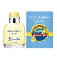 D&G Light Blue Italian Zest Pour Homme туалетная вода 75 мл