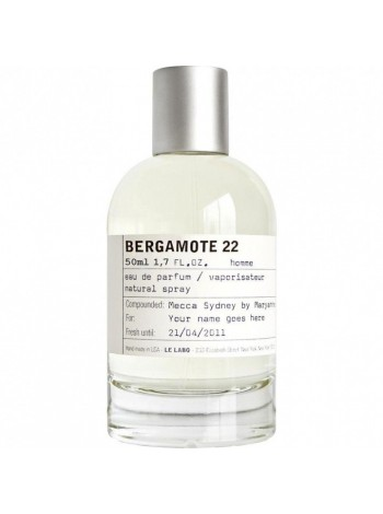 Le Labo Bergamote 22 парфюмированная вода 50 мл