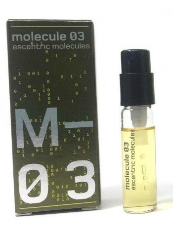 Escentric Molecules Molecule 03 пробник 2 мл