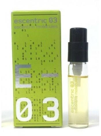 Escentric Molecules Escentric 03 пробник 2 мл