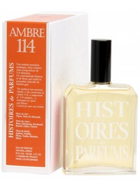 Histoires de Parfums Ambre 114 парфюмированная вода 120 мл