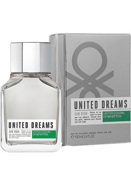 Benetton United Dreams Men Aim High туалетная вода 100 мл