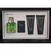Calvin Klein Eternity for Men Подарочный набор (туалетная вода 100 мл + гель для душа 100 мл + бальзам после бритья 100 мл + миниатюра 20 мл)