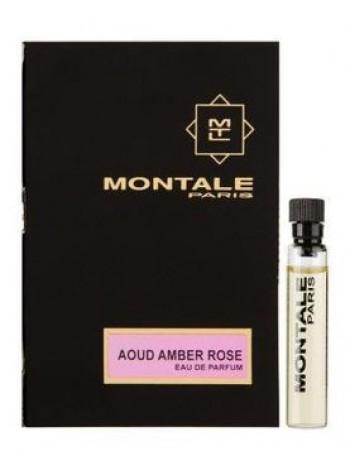 Montale Aoud Amber Rose пробник 2 мл