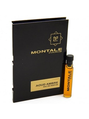 Montale Aoud Ambre пробник 2 мл