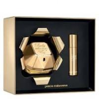 Paco Rabanne Lady Million подарочный набор (парфюмированная вода 80 мл + миниатюра 10 мл)
