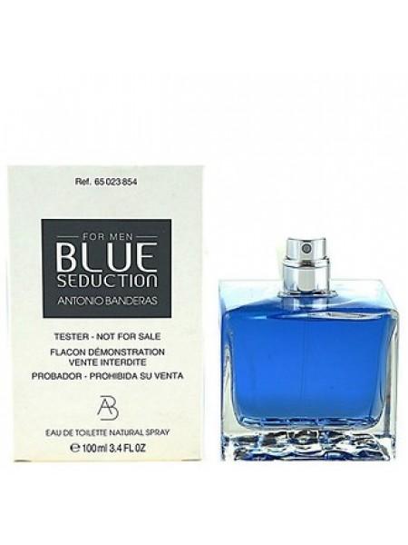 Antonio Banderas Blue Seduction for Men тестер (туалетная вода) 100 мл