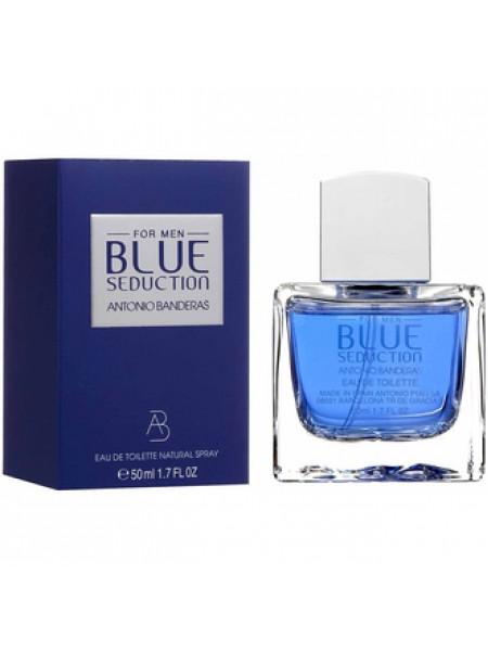Antonio Banderas Blue Seduction for Men туалетная вода 50 мл
