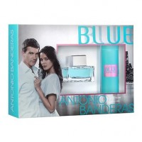 Antonio Banderas Blue Seduction for Women Подарочный набор (туалетная вода 80 мл + дезодорант-спрей 150 мл)