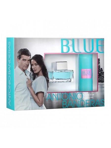 Antonio Banderas Blue Seduction for Women Подарочный набор (туалетная вода 50 мл + дезодорант-спрей 150 мл)