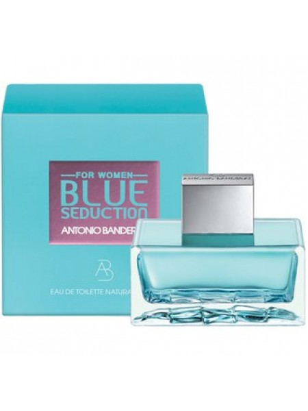 Antonio Banderas Blue Seduction for Women Подарочный набор (туалетная вода 50 мл + лосьон для тела 50 мл)