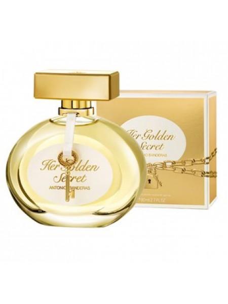 Antonio Banderas Her Golden Secret Подарочный набор (туалетная вода 50 мл + лосьон для тела 50 мл)