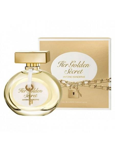 Antonio Banderas Her Golden Secret туалетная вода 50 мл