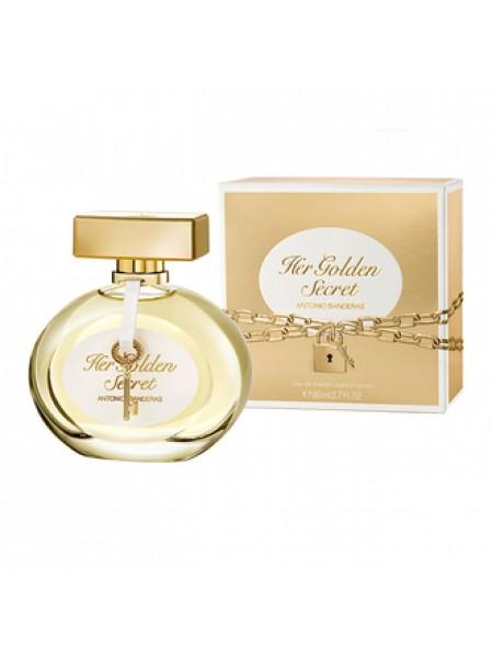 Antonio Banderas Her Golden Secret туалетная вода 80 мл