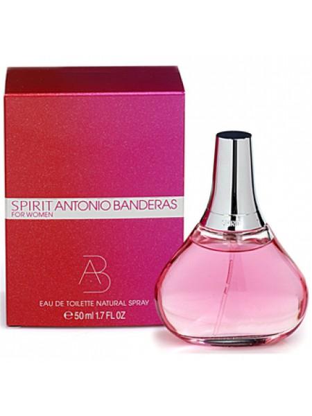 Antonio Banderas Spirit for Woman туалетная вода 50 мл
