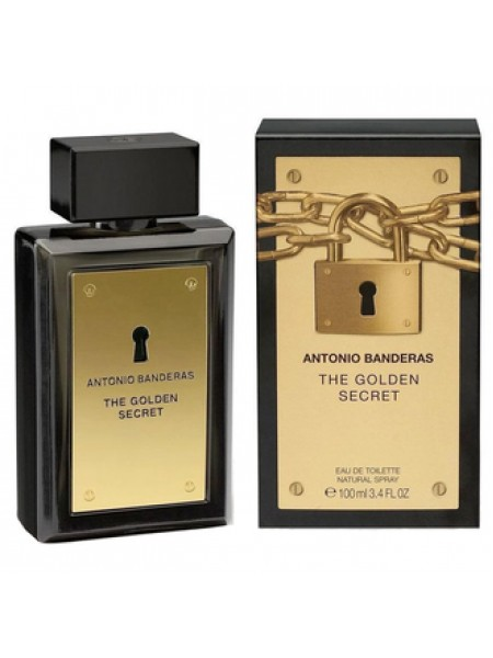 Antonio Banderas The Golden Secret туалетная вода 100 мл