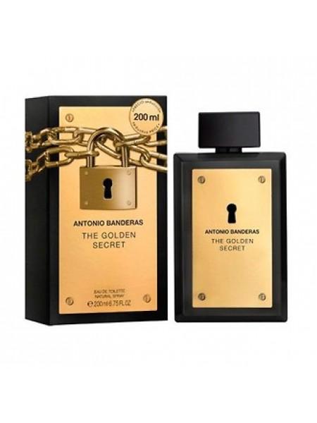 Antonio Banderas The Golden Secret туалетная вода 200 мл