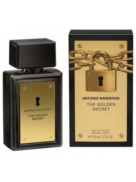 Antonio Banderas The Golden Secret туалетная вода 50 мл