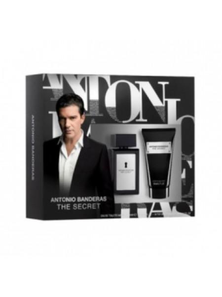 Antonio Banderas The Secret Подарочный набор (туалетная вода 50 мл + бальзам после бритья 50 мл)