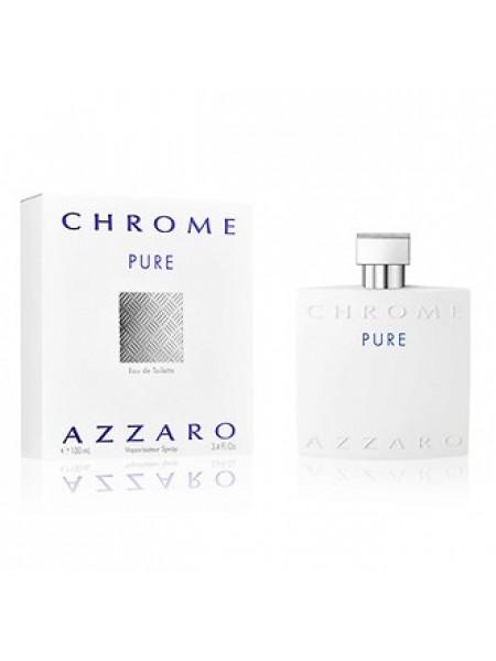 Azzaro Chrome Pure туалетная вода 100 мл