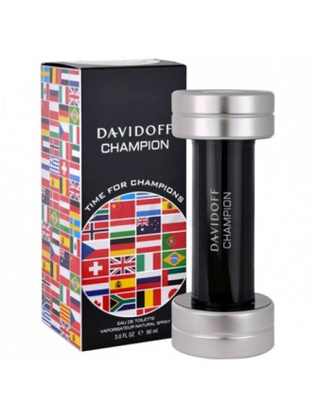 Davidoff Champion Time for Champion туалетная вода 90 мл