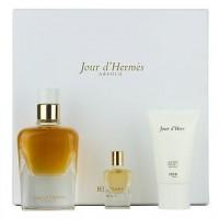 Hermes Jour d'Hermes Absolu Подарочный набор (парфюмированная вода 85 мл + лосьон для тела 30 мл + миниатюра 7.5 мл)