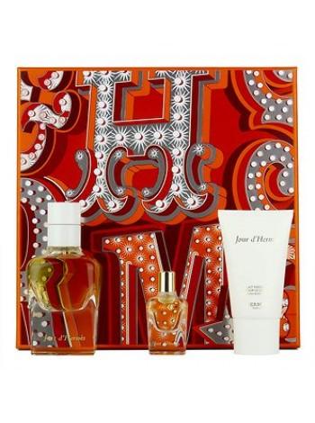 Hermes Jour d'Hermes Подарочный набор (парфюмированная вода 50 мл + лосьон для тела 30 мл + миниатюра 7.5 мл)