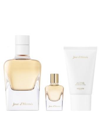 Hermes Jour d'Hermes Подарочный набор (парфюмированная вода 85 мл + лосьон для тела 30 мл + миниатюра 7.5 мл)