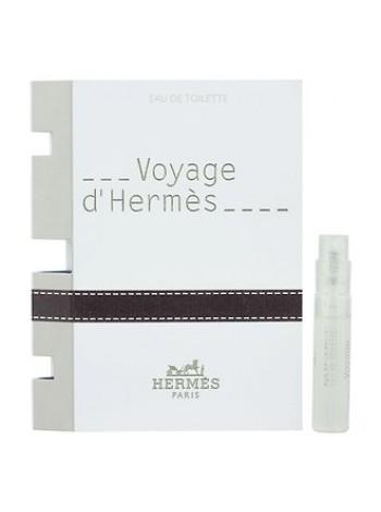 Hermes Voyage d'Hermes пробник (туалетная вода) 2 мл