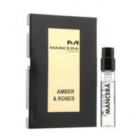 Mancera Amber & Roses пробник 2 мл