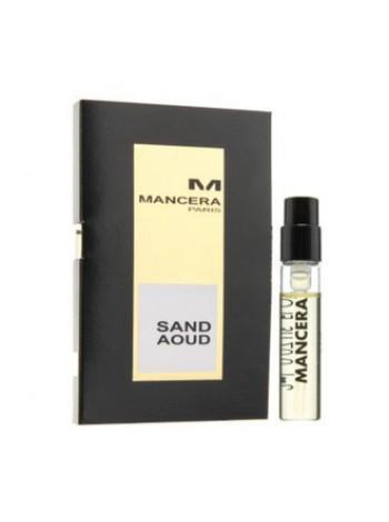Mancera Sand Aoud пробник 2 мл