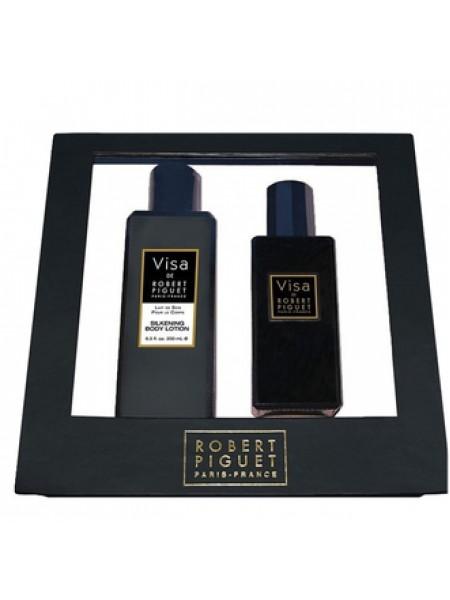 Robert Piguet Visa Подарочный набор (парфюмированная вода 100 мл + лосьон для тела 200 мл)