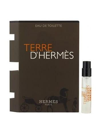 Terre d'Hermes Eau De Toilette пробник 2 мл