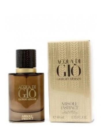 Armani Acqua Di Gio Absolu Instinct парфюмированная вода 40 мл