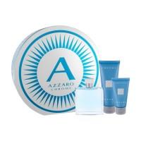 Azzaro Chrome Подарочный набор (туалетная вода 100 мл + гель для душа 100 мл + лосьон после бритья 50 мл)