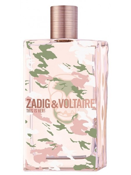Zadig & Voltaire This is Her No Rules тестер (парфюмированная вода) 100 мл
