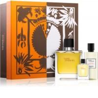 Terre d'Hermes Parfum Подарочный набор (парфюмированная вода 75 мл + миниатюра 5 мл + гель для душа 40 мл)